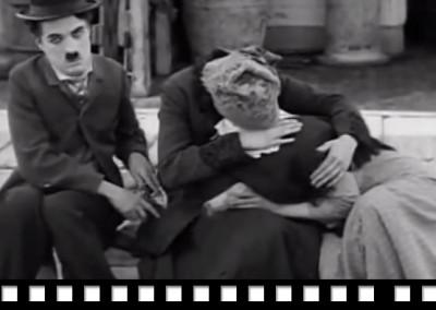 El inmigrante (1917), Charles Chaplin